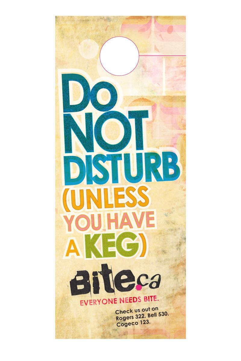 Bite TV Direct Ad -  Do not disturb