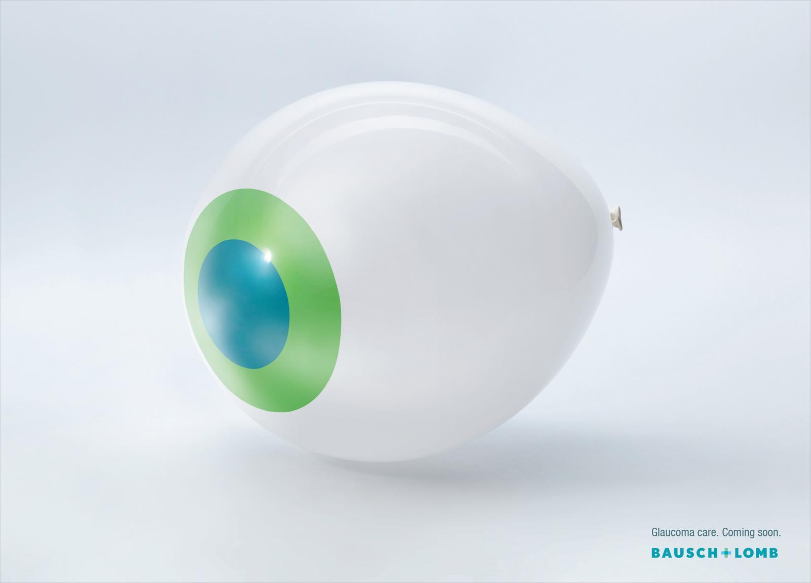 Bausch & Lomb Print Ad -  Balloon