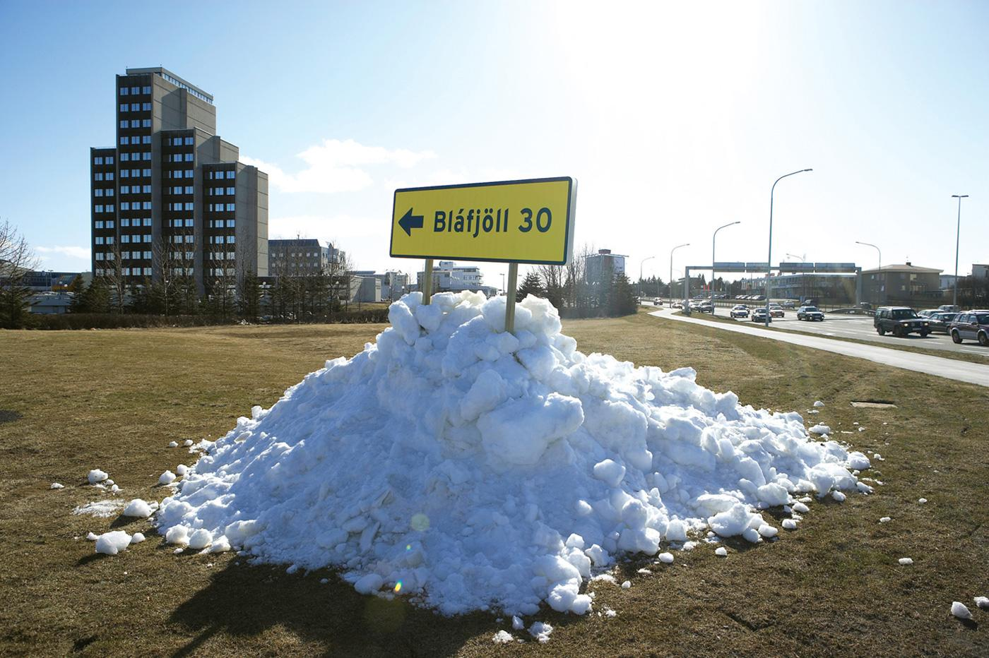 Blafjoll Ambient Ad -  Snow