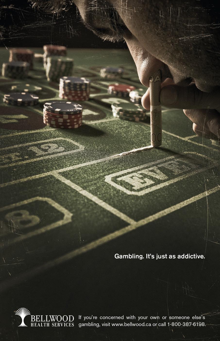 Bellwood Print Ad -  Hidden Addiction, Blow