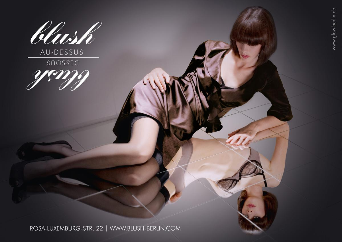 Blush Print Ad -  Reflection