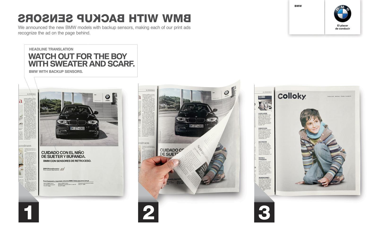 BMW Print Ad -  Kid