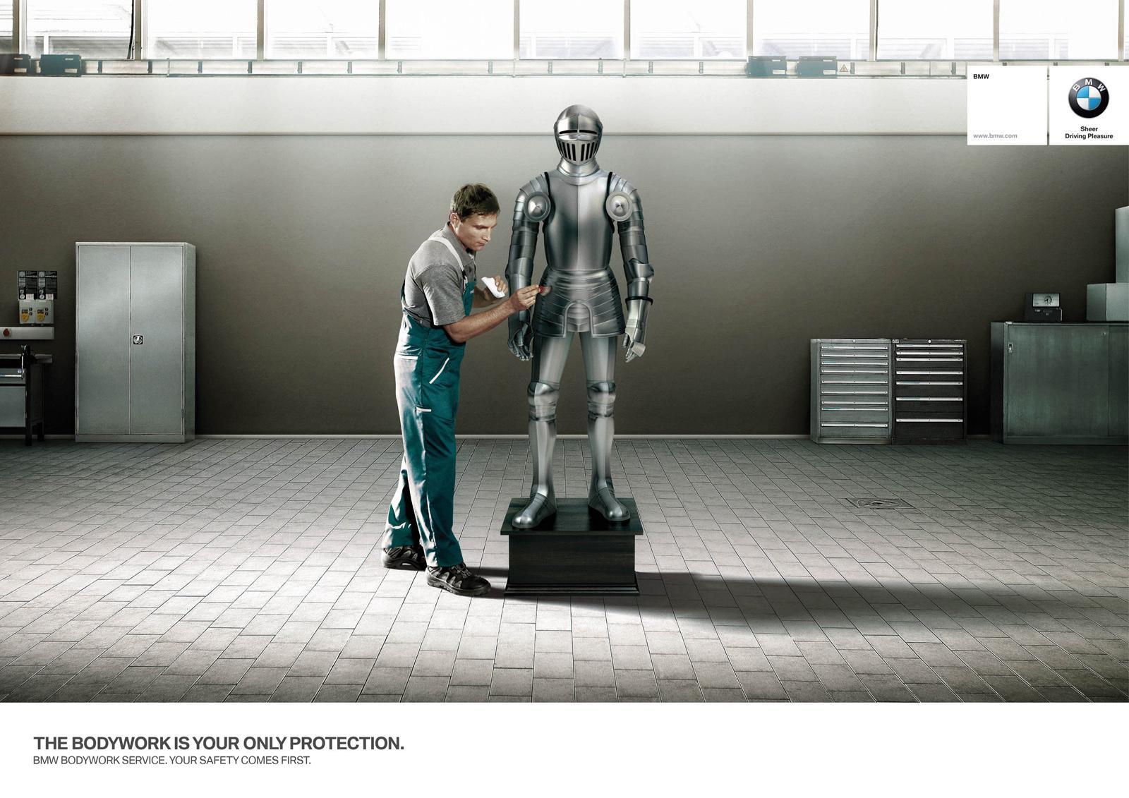 BMW Print Ad -  Armor