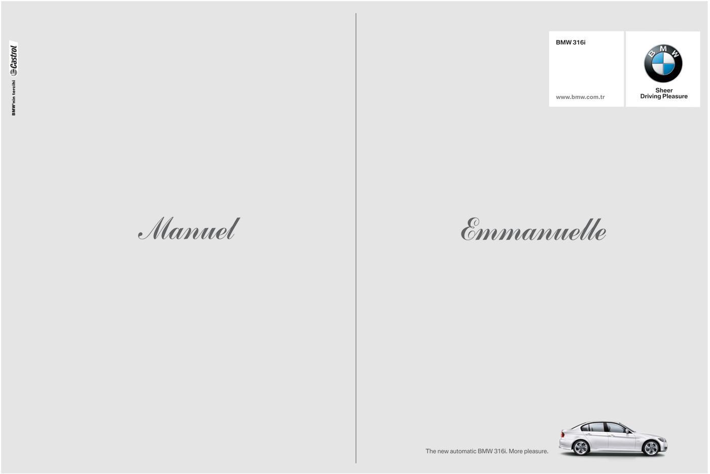 BMW Print Ad -  Emanuelle