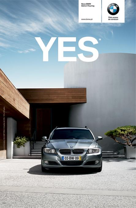 BMW Print Ad -  Yes