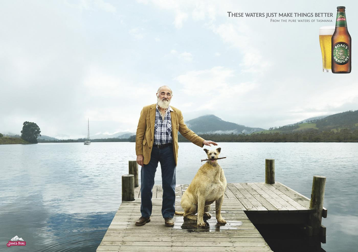 Boags Print Ad -  Dog