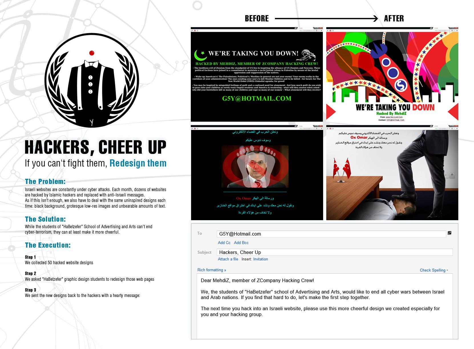 Habezefer Digital Ad -  Better looking hatred