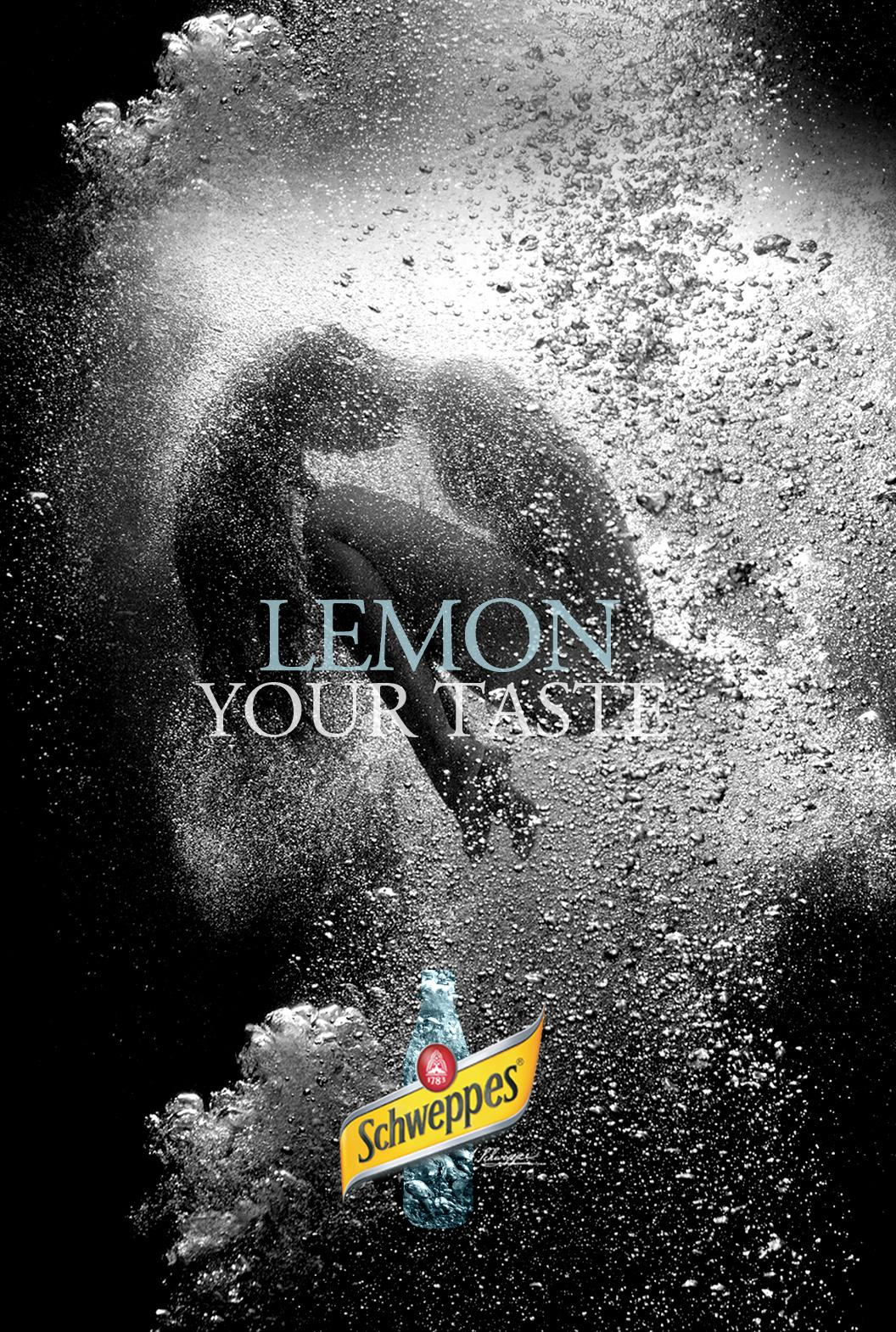 Schweppes Outdoor Ad -  Lemon