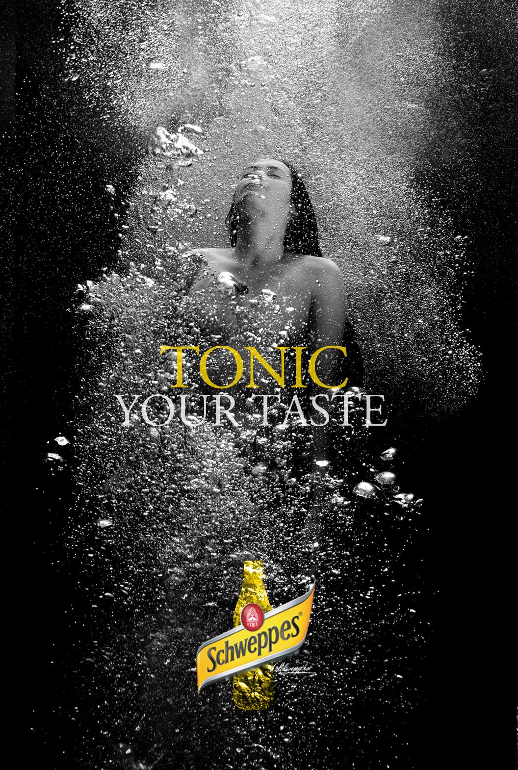Schweppes Outdoor Ad -  Tonic