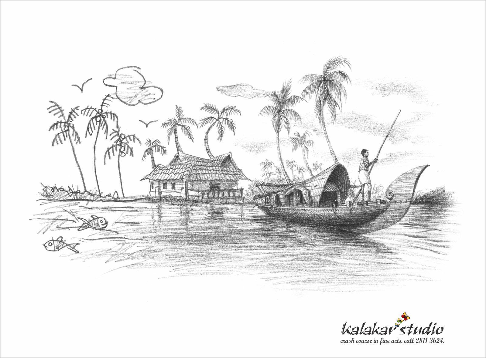 Kalakar Studio Print Ad -  Boat House