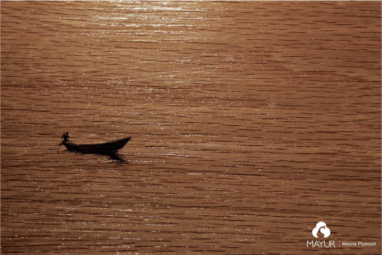 Mayur Ply Print Ad -  Boat