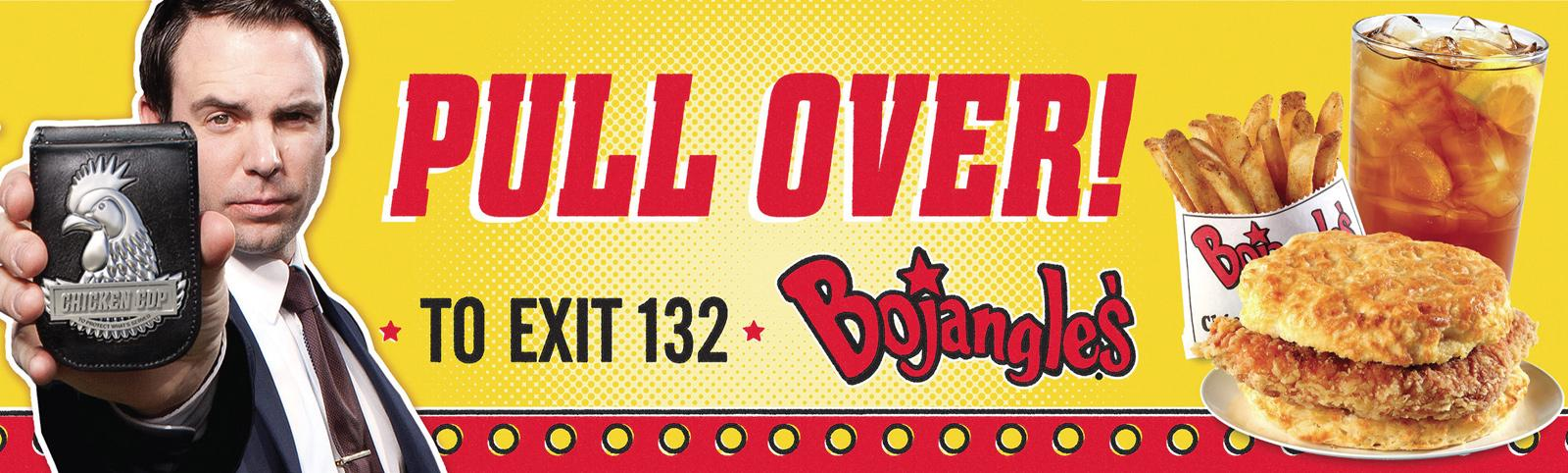 Bojangles' Outdoor Ad -  Pull over