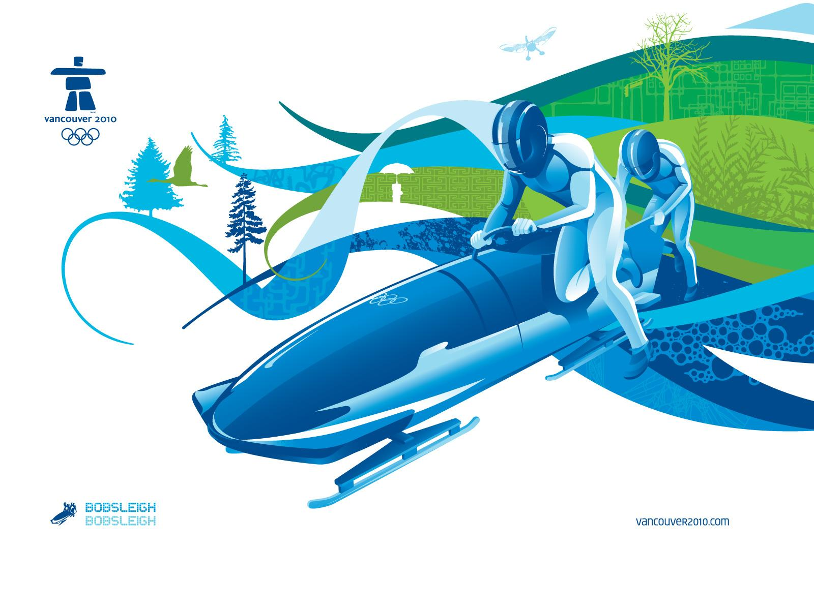 Vancouver 2010 Print Ad -  Bobsleigh