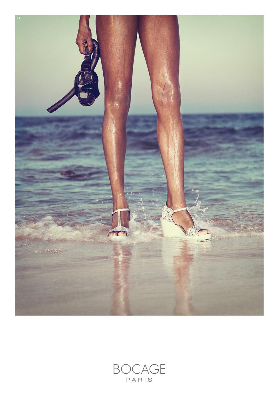 Bocage Print Ad -  Beach