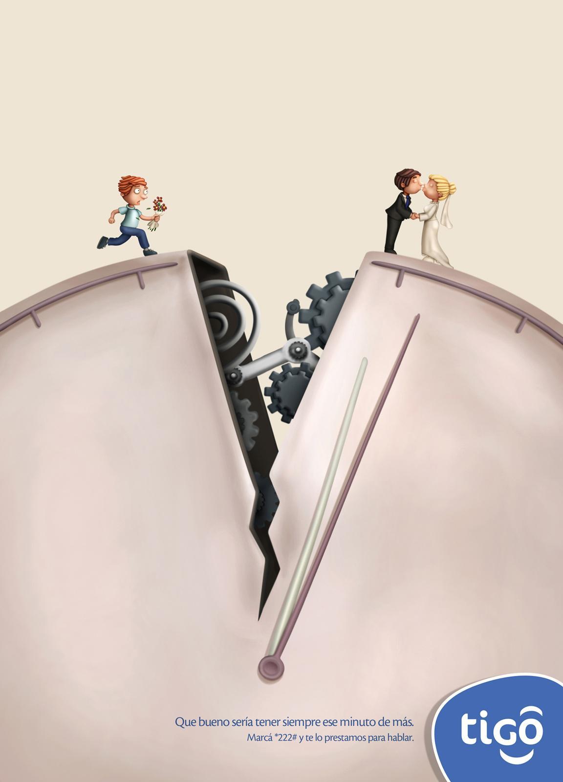 Tigo Print Ad -  Wedding
