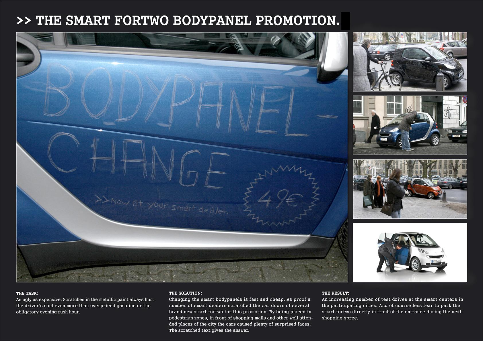Smart Ambient Ad -  Bodypanel promotion