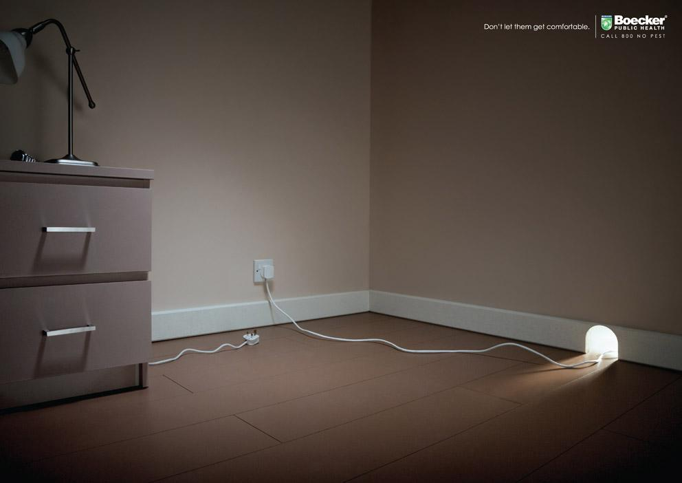 Boecker Print Ad -  Electric plug