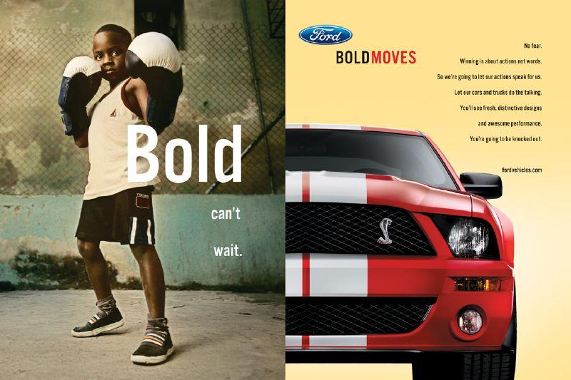 Bold can't wait