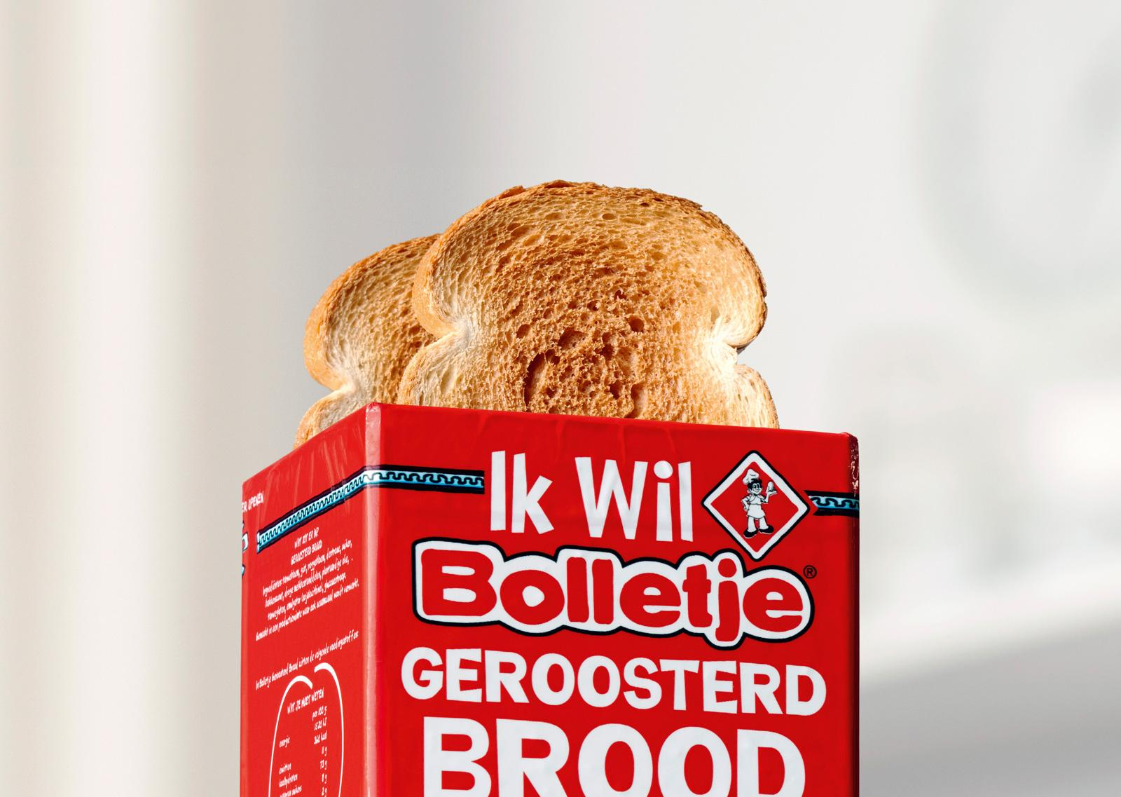 Bolletje Print Ad -  Toasted bread