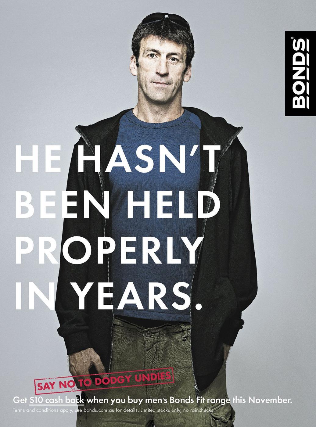 Bonds Print Ad -  Years