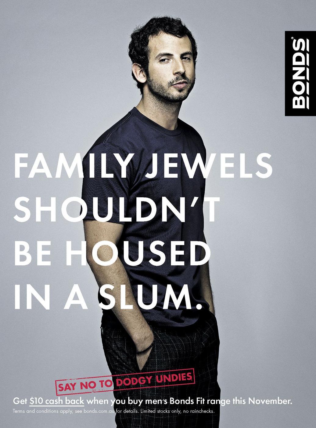 Bonds Print Ad -  Slum