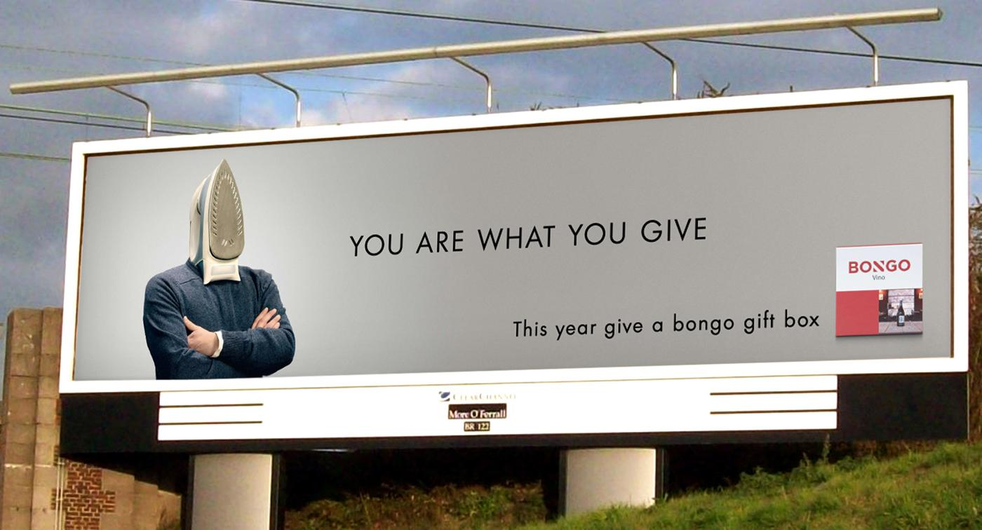 Bongo Outdoor Ad -  Iron man