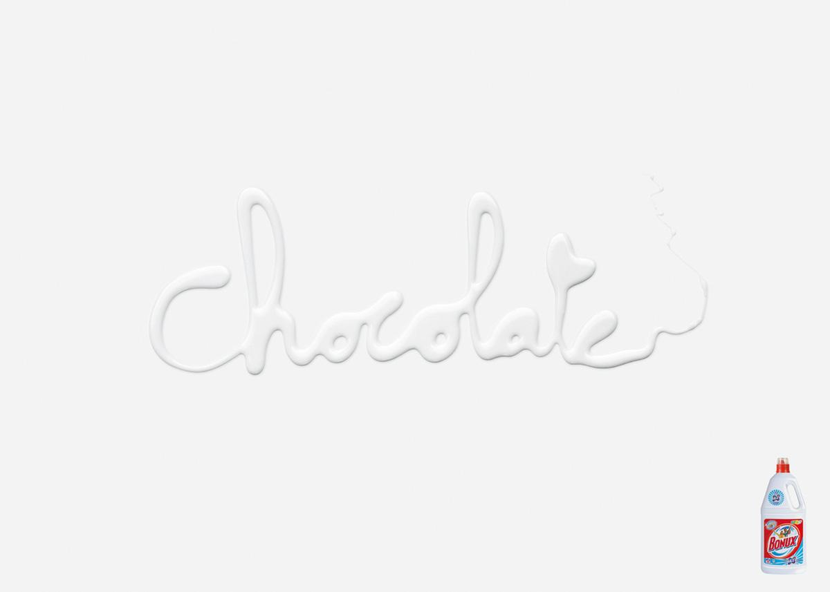 Bonux Print Ad -  Chocolate