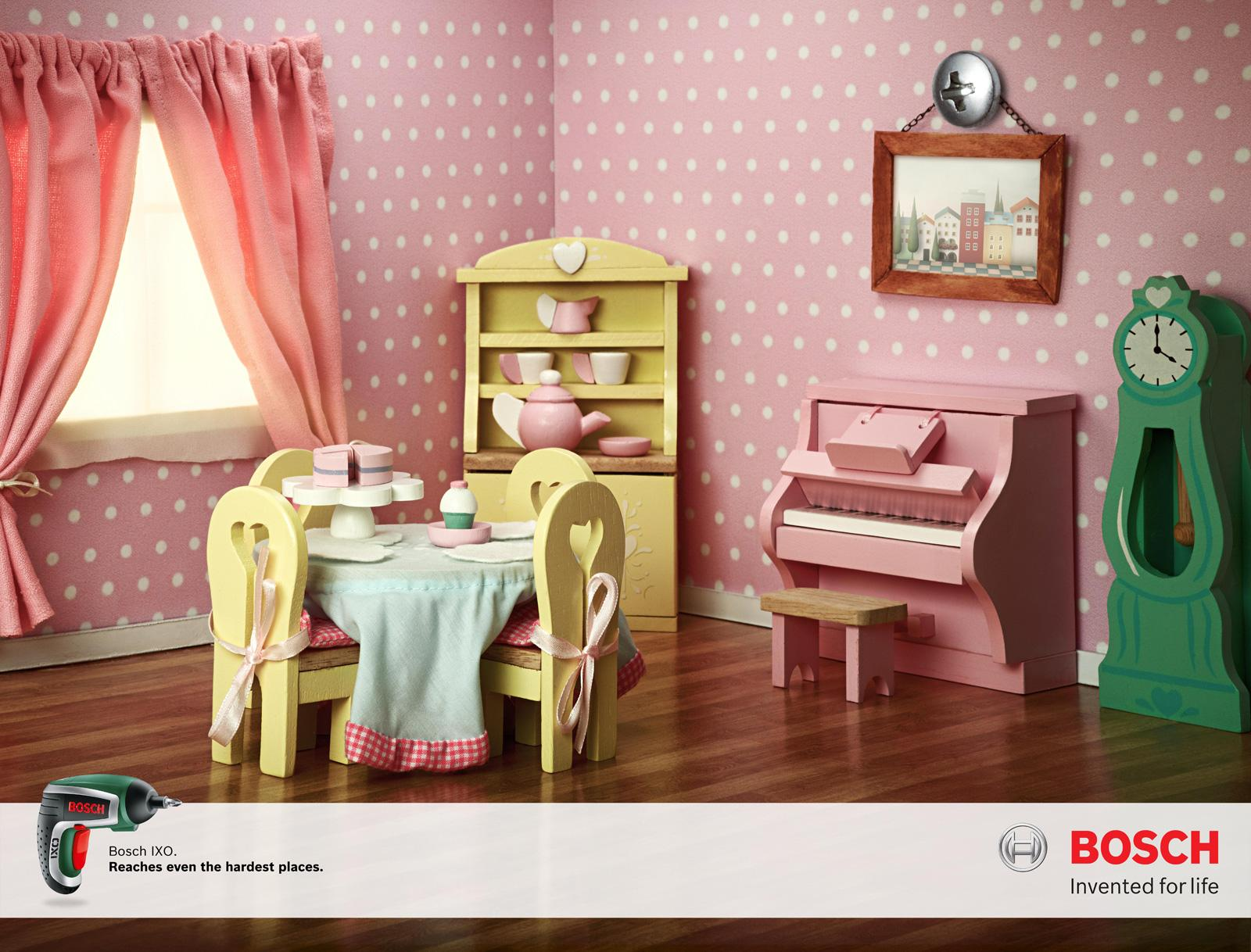 Bosch Print Ad -  Doll House