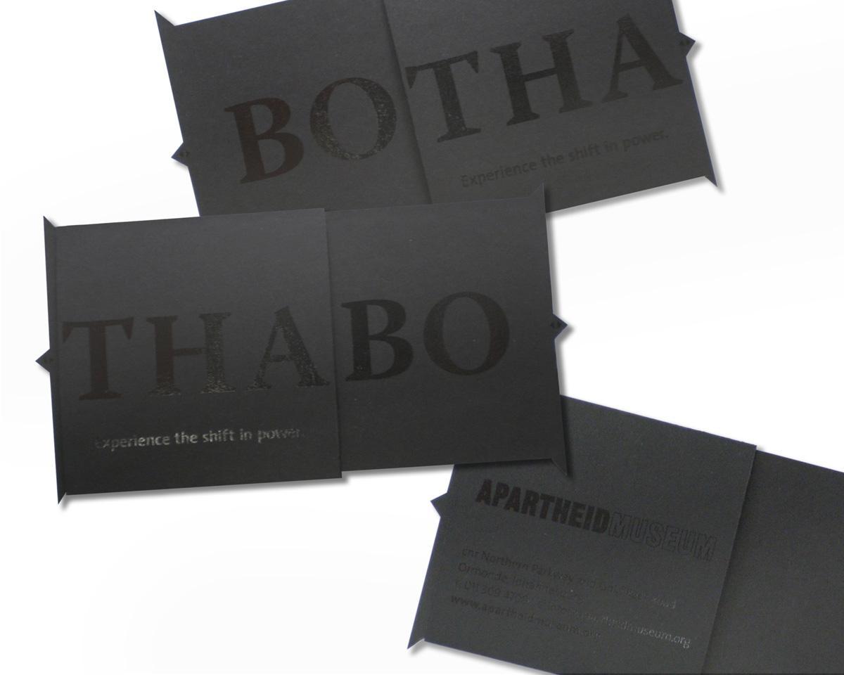 Apartheid Museum Direct Ad -  Botha