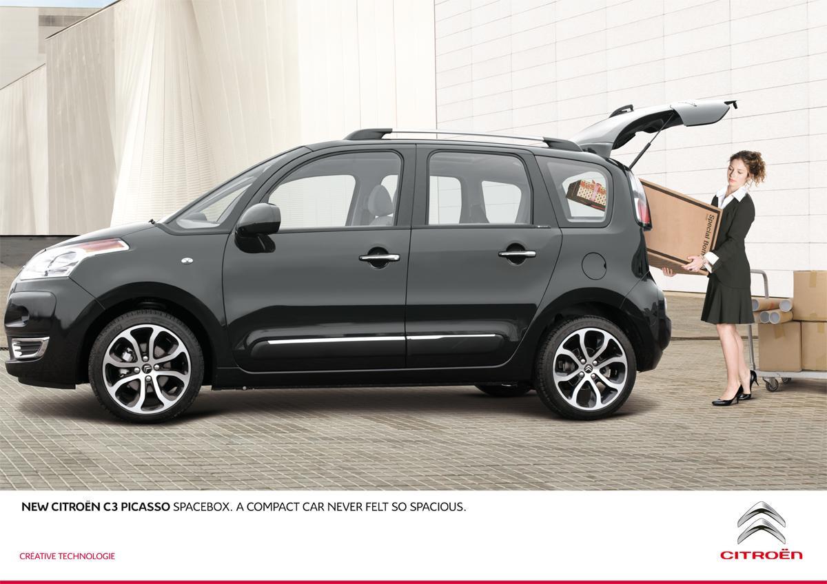Citroën Print Ad -  Box