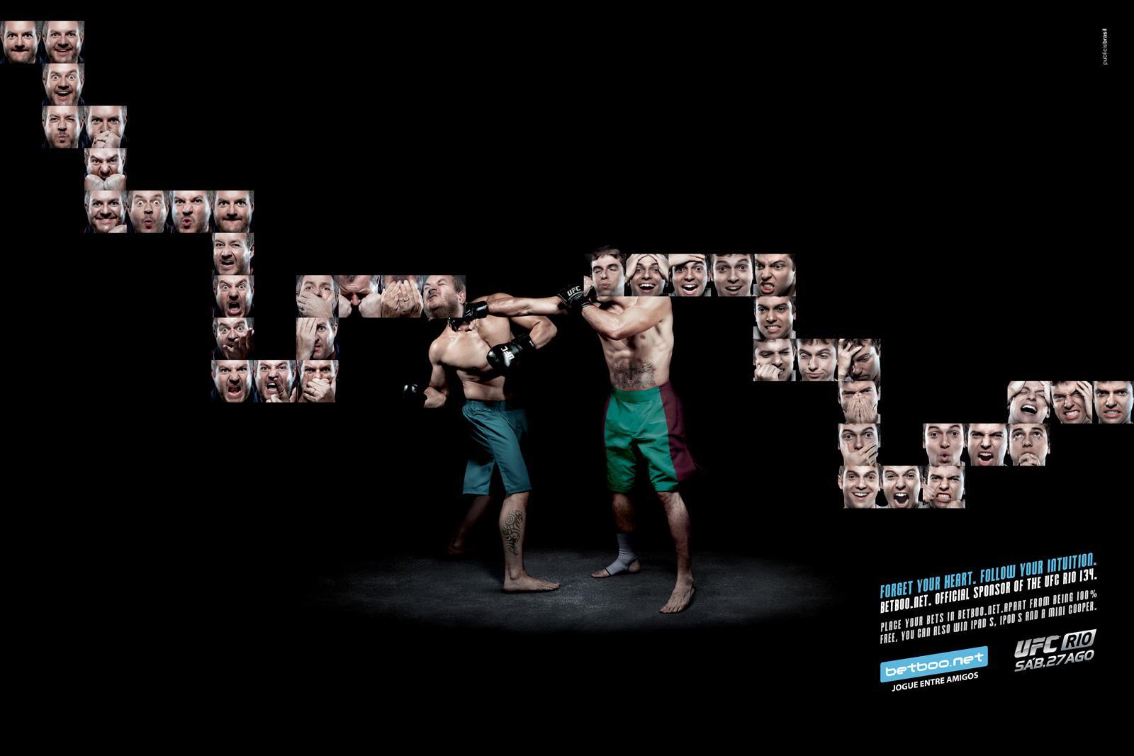 Betboo.net Print Ad -  UFC RIO 134 Boxing