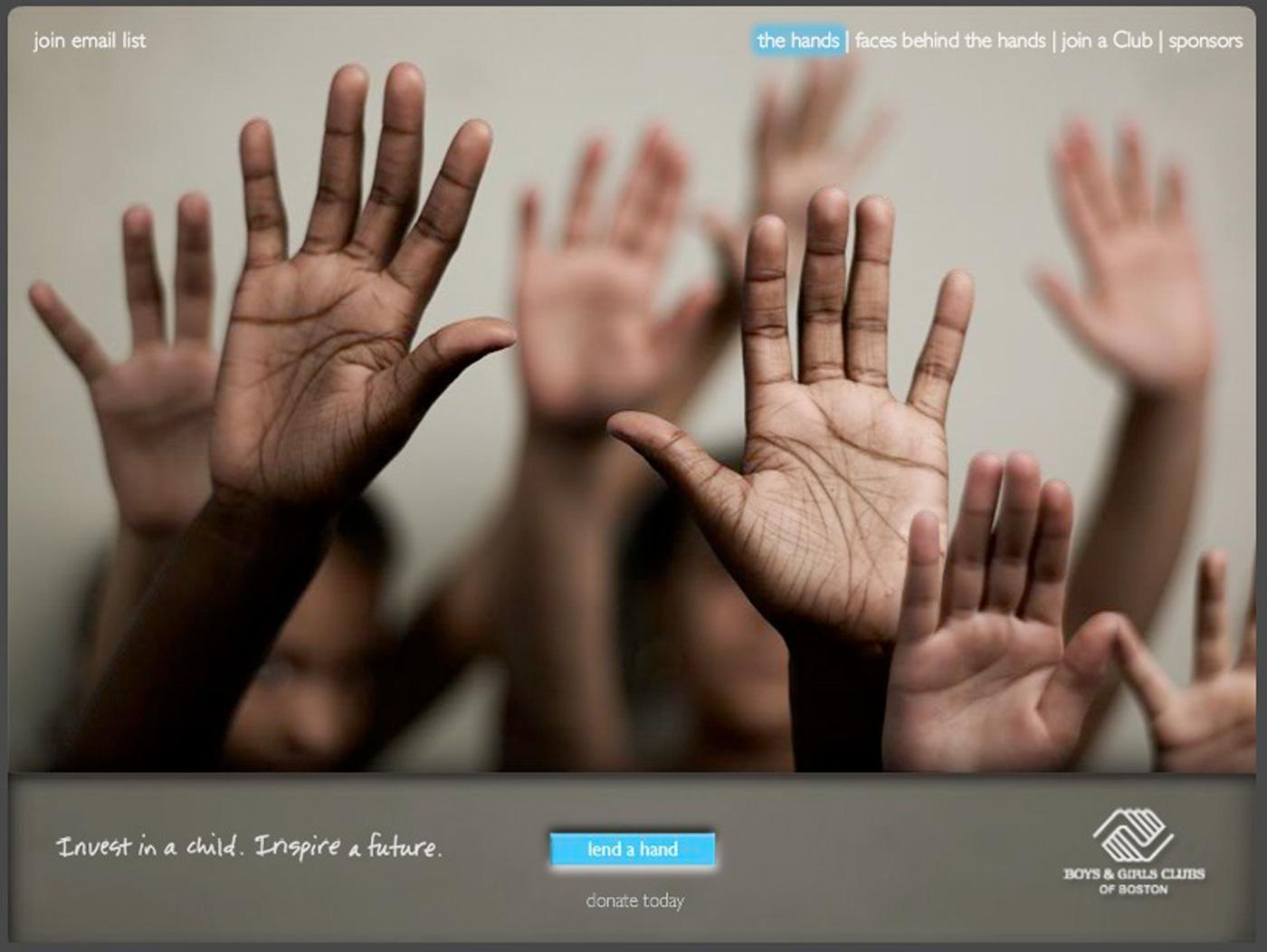 Boys and Girls Club of Boston Digital Ad -  Lend a hand