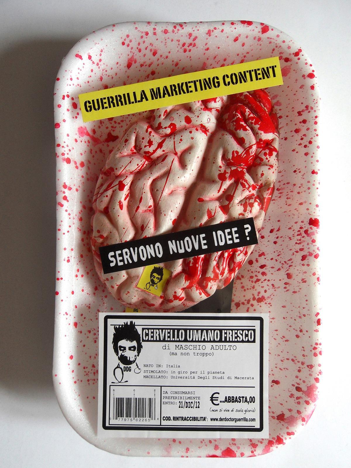 Der Doctor Guerrilla Direct Ad -  Brain
