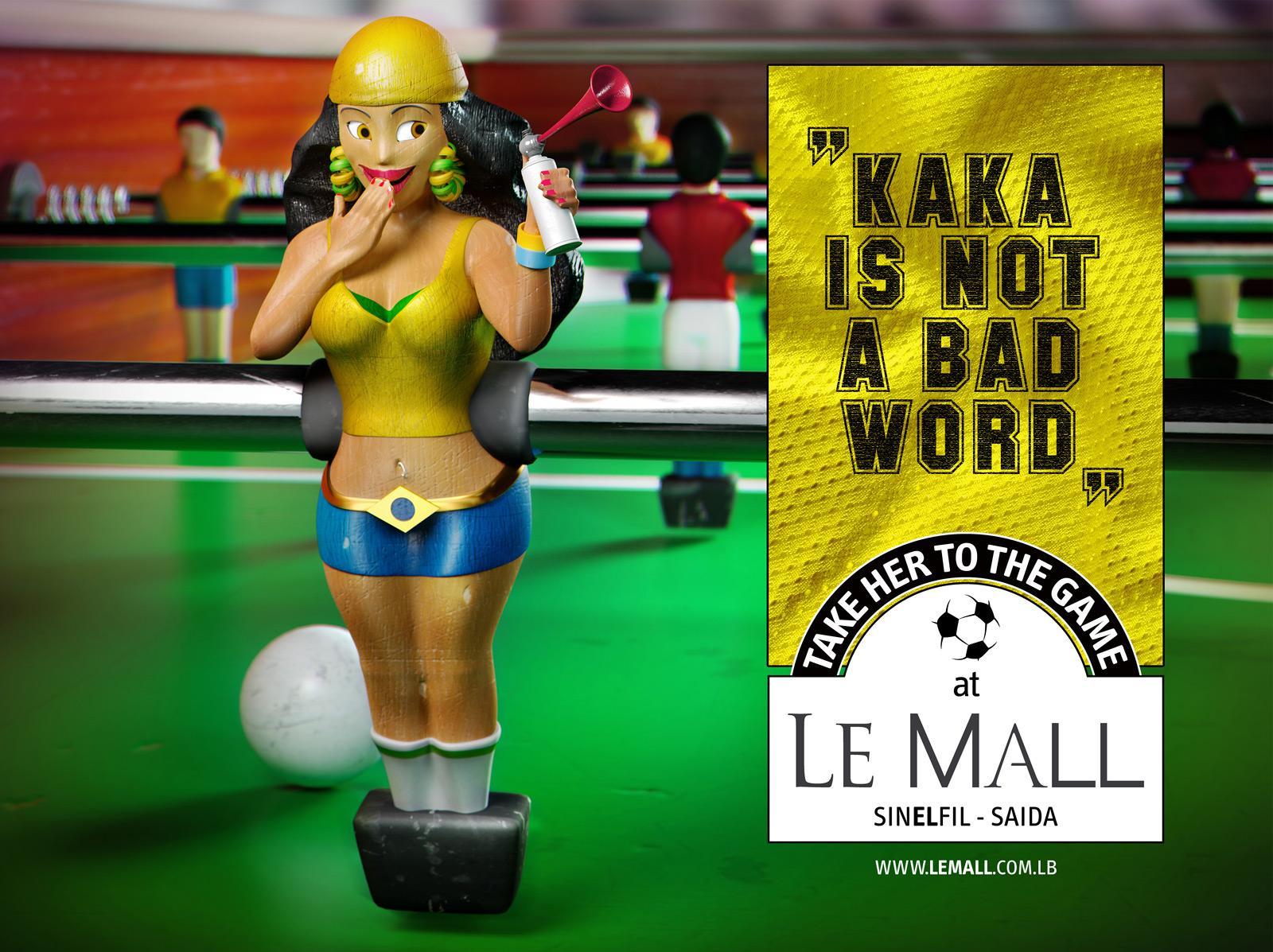 Le Mall Print Ad -  Brazil