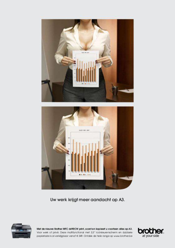 Brother Print Ad -  Breast