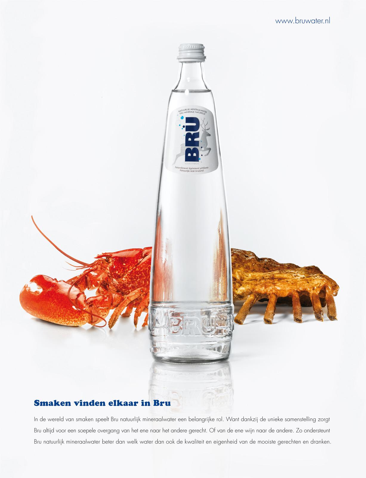 Bru Print Ad -  Lobster