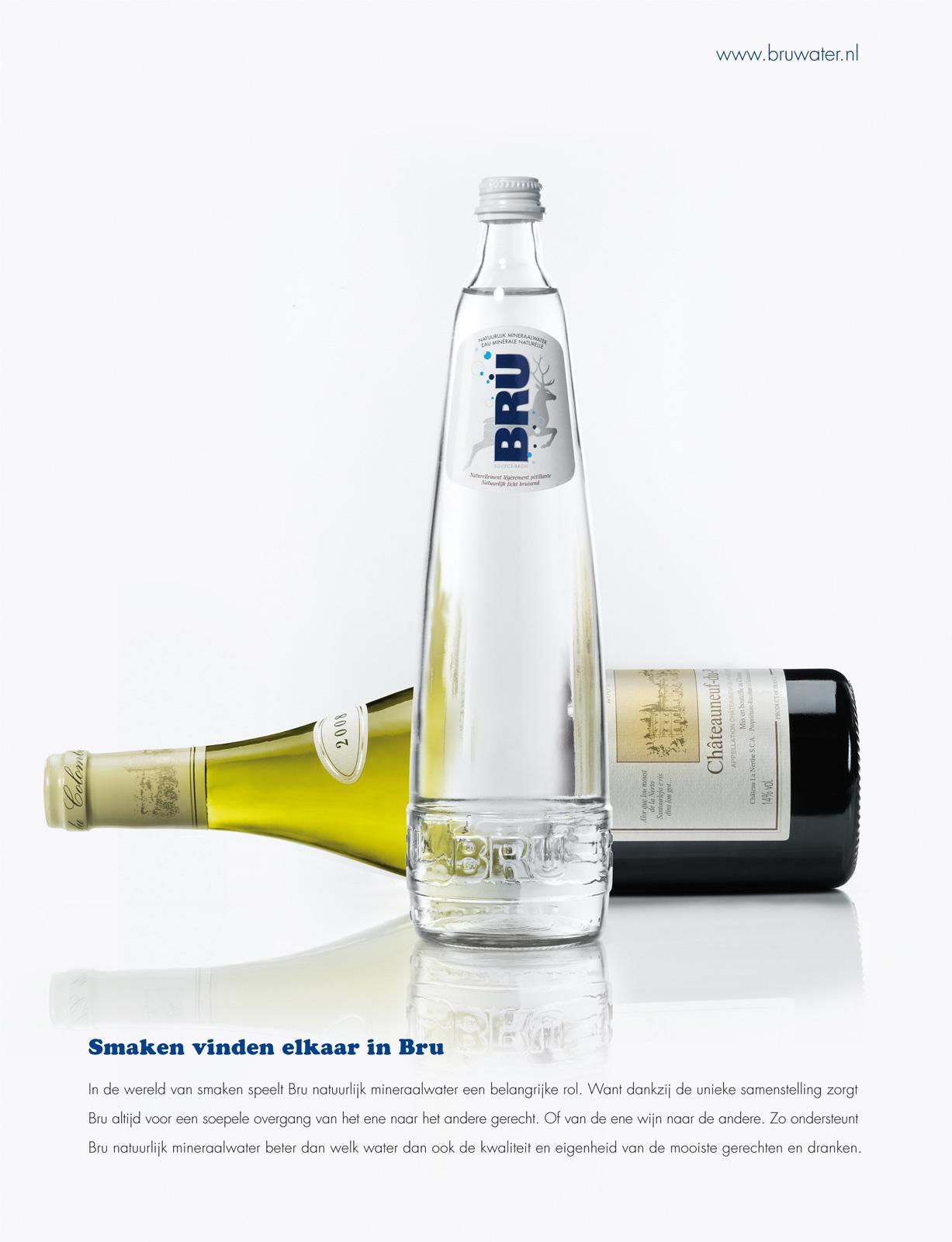 Bru Print Ad -  Wine