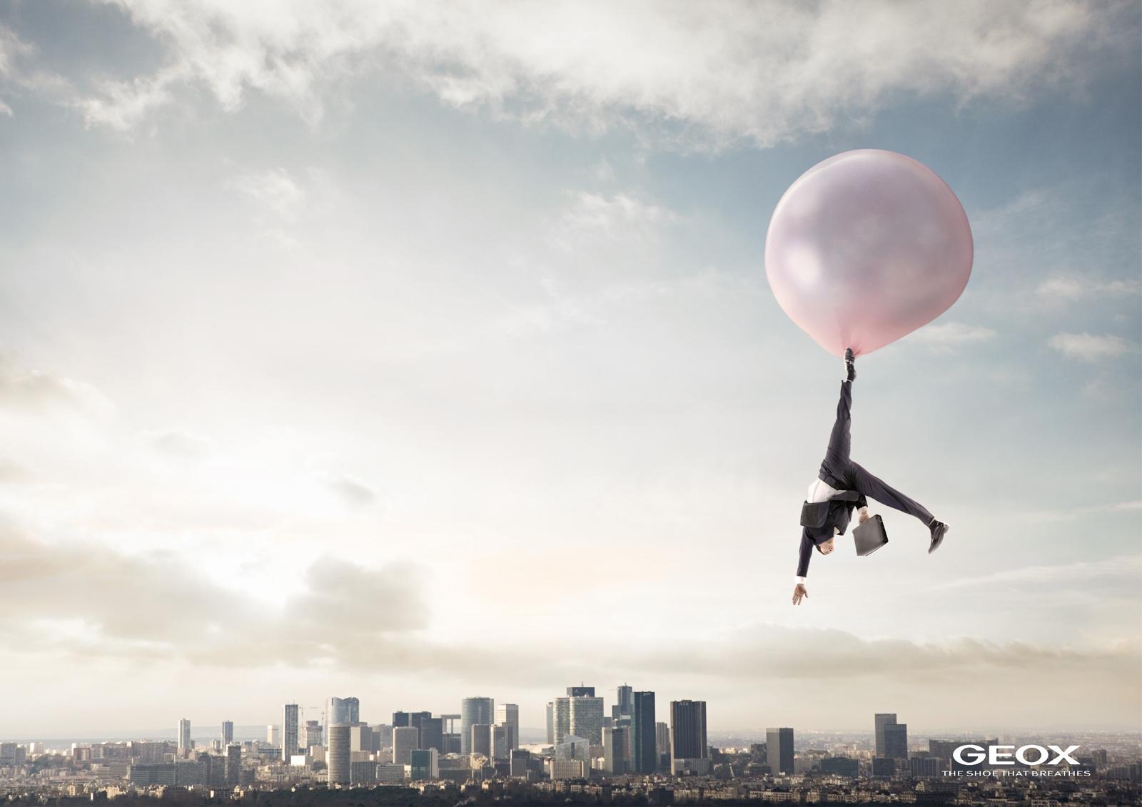 GEOX Print Ad -  Bubblegum