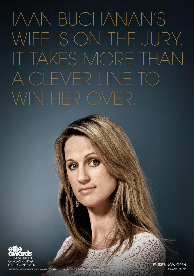 Effie Awards Print Ad -  Buchanan