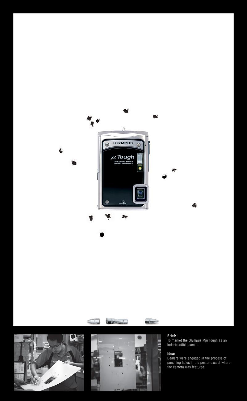 Olympus Print Ad -  Bullet