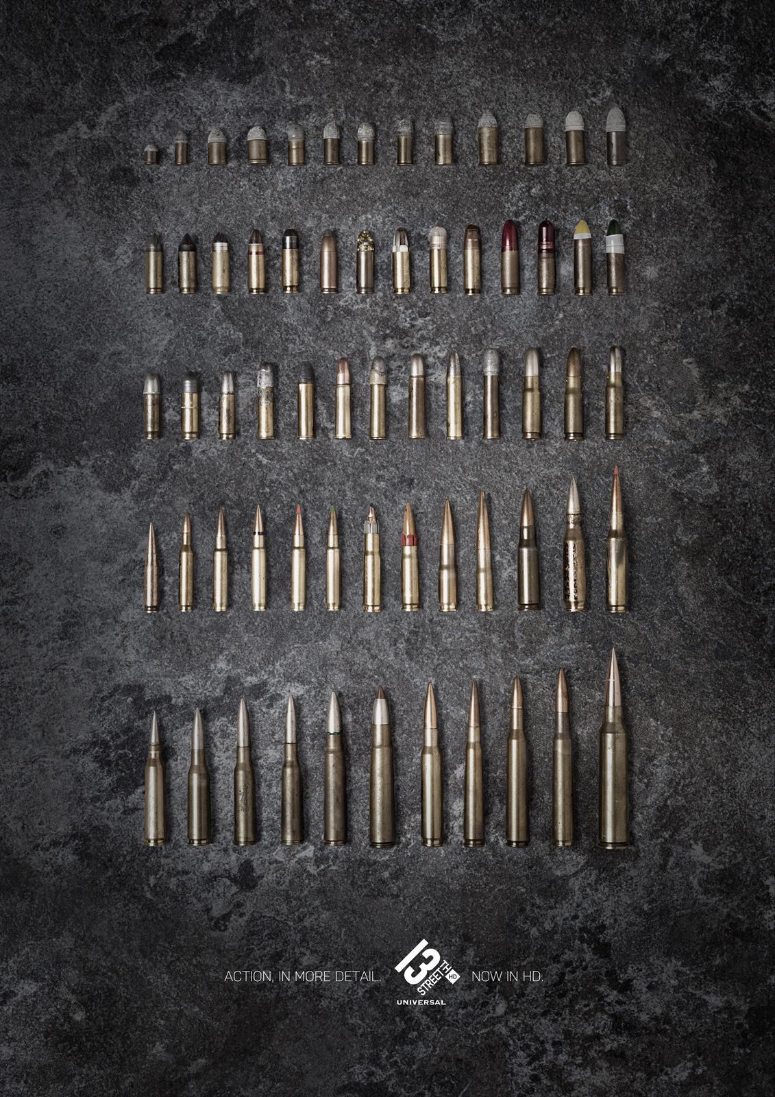 13th Street Print Ad -  Bullets