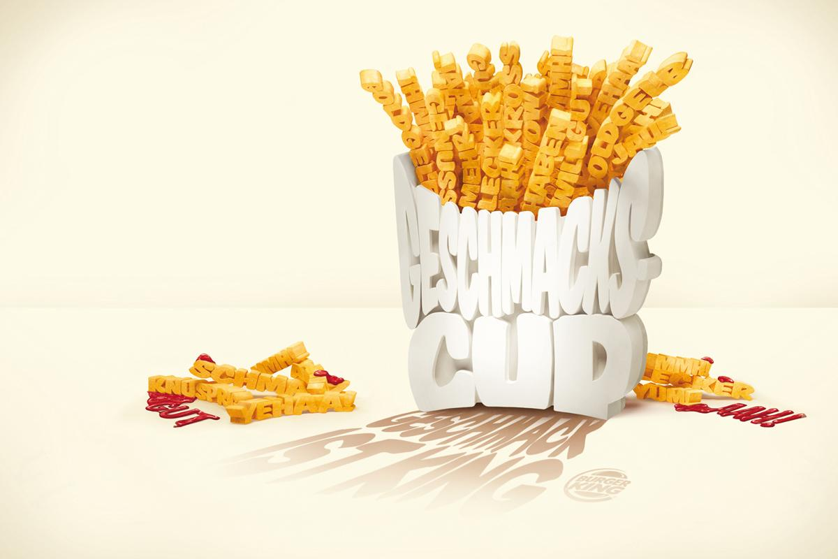 Burger King Print Ad -  Fries