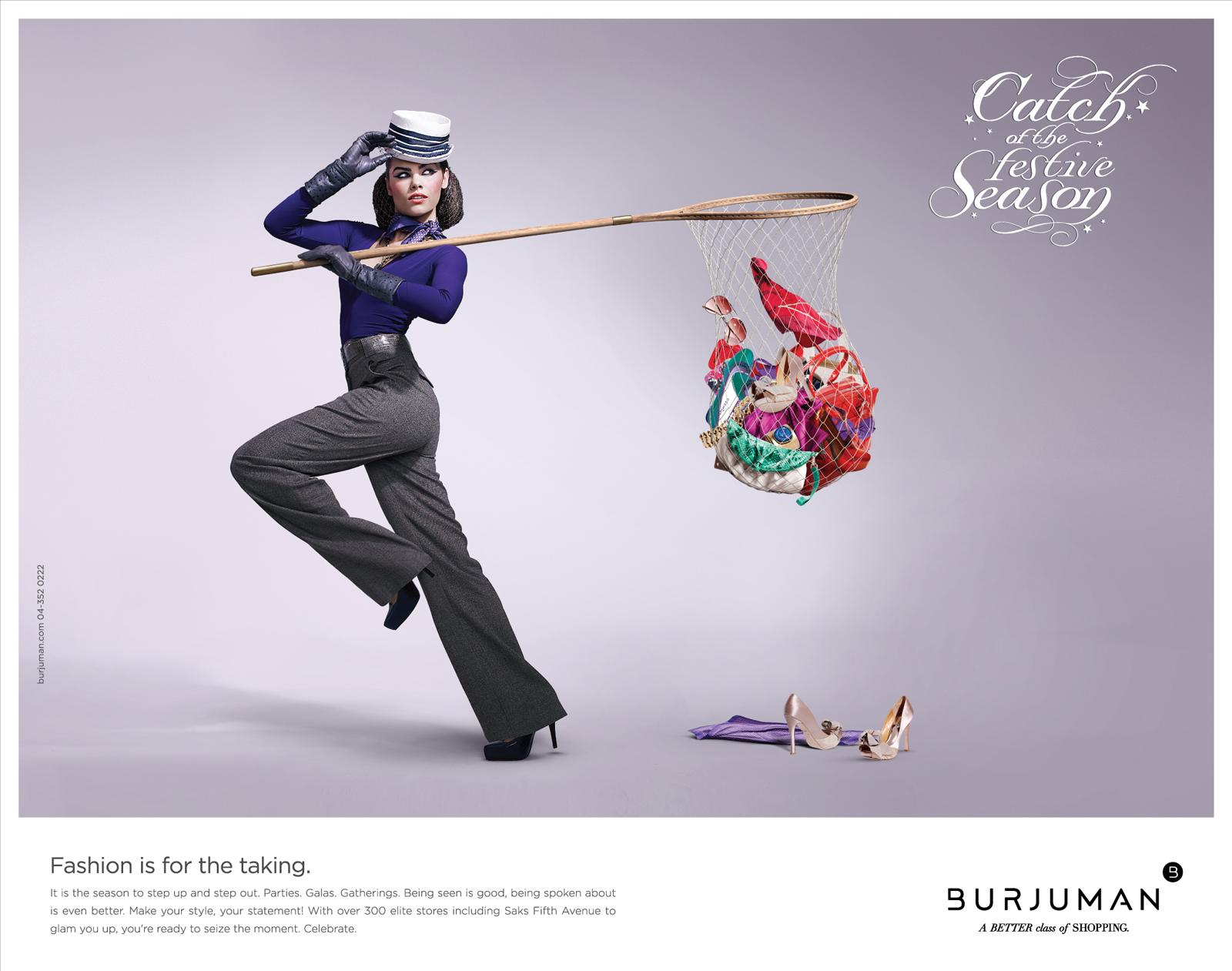Burjuman Print Ad -  Catch of the Season, 1