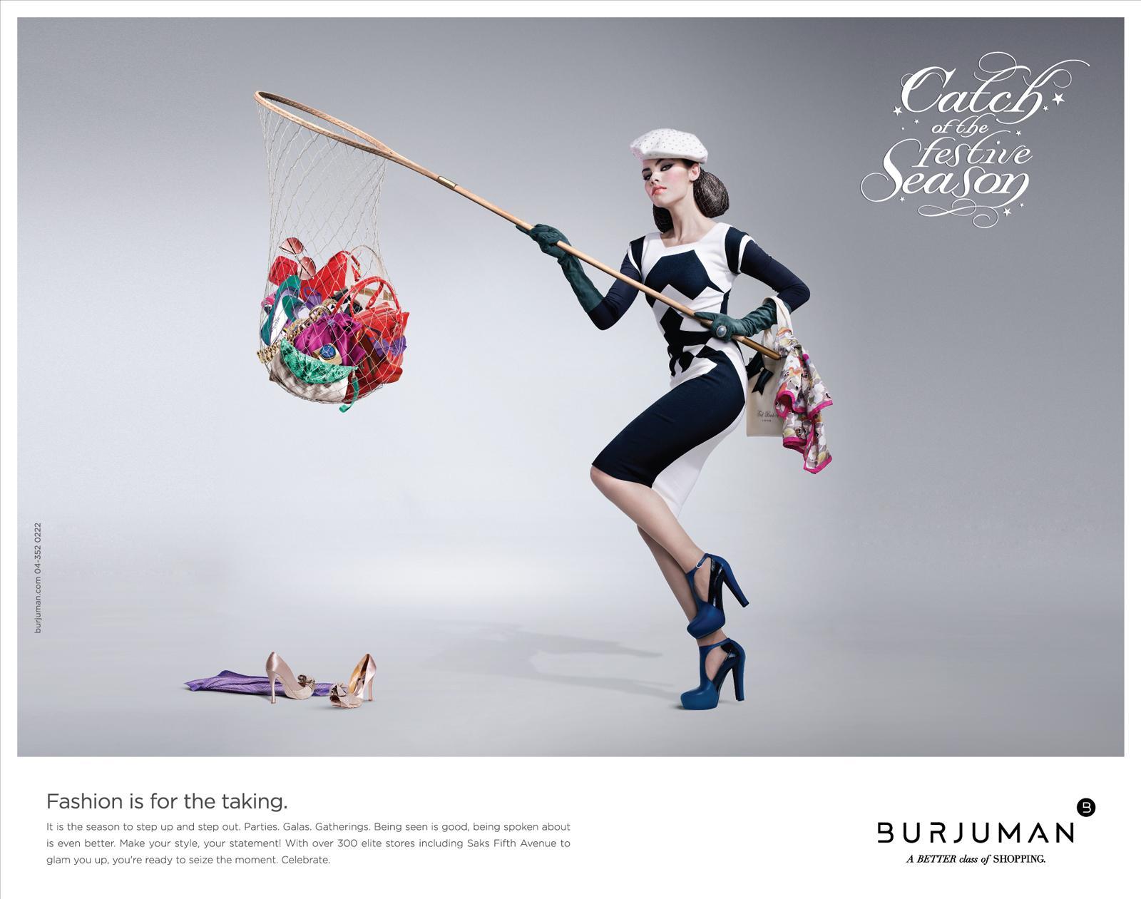 Burjuman Print Ad -  Catch of the Season, 3