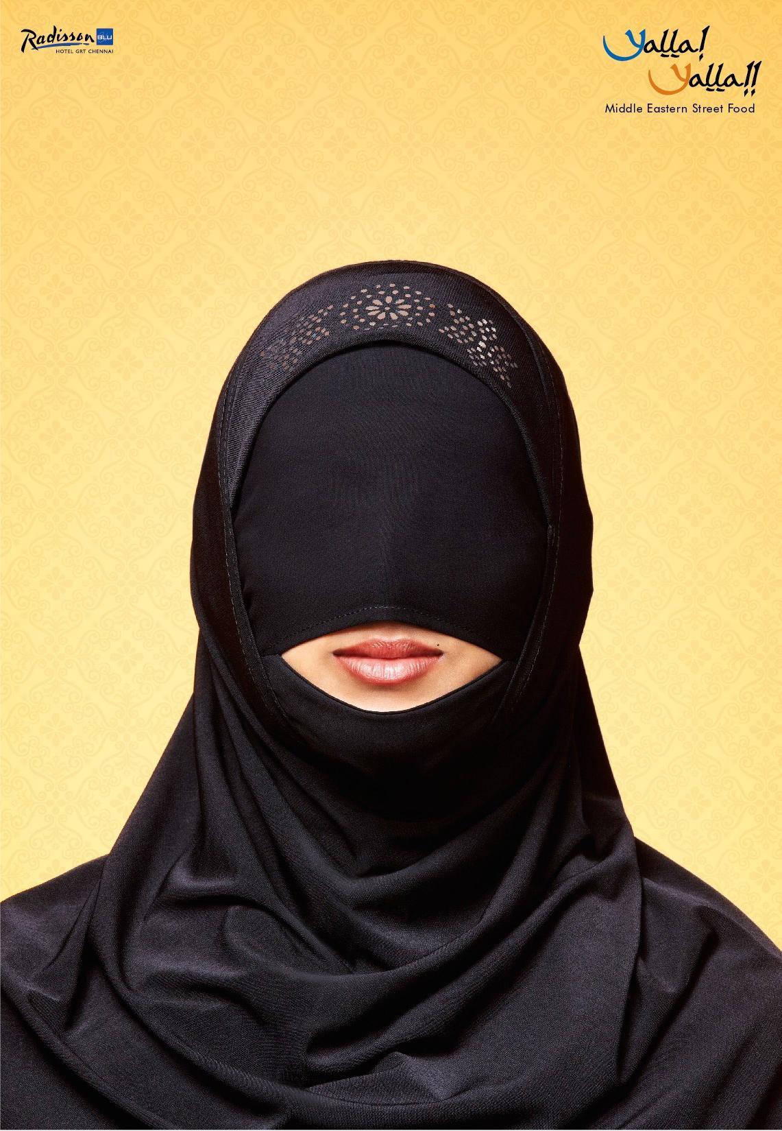 Yalla Yalla Print Ad -  Burqa