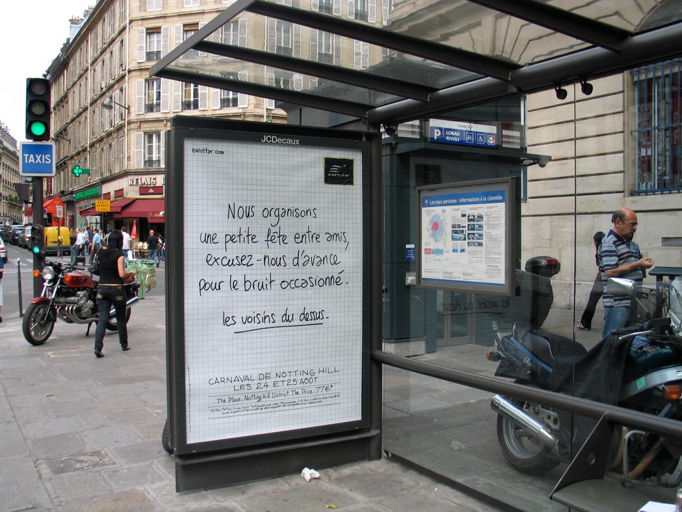 Eurostar Print Ad -  Carneval