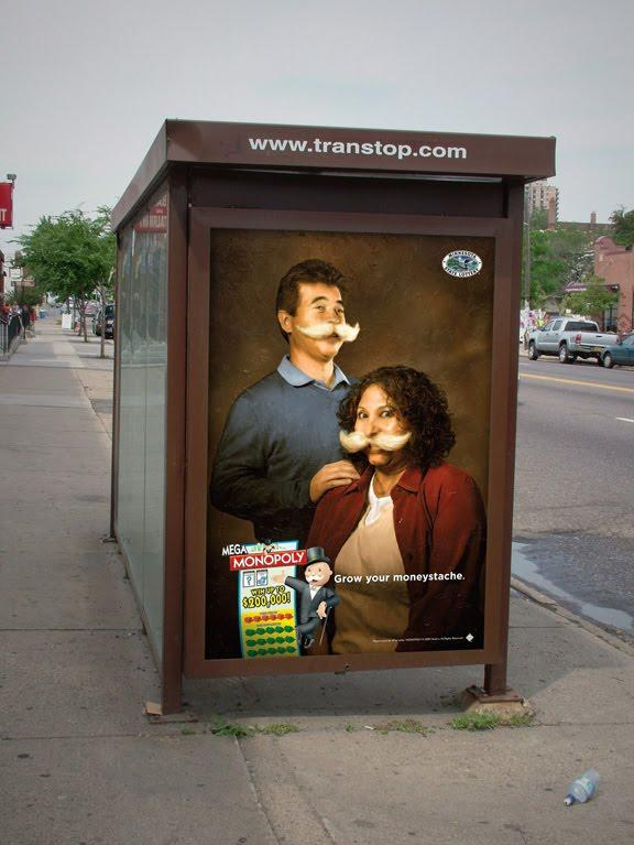 Minnesota State Lottery Outdoor Ad -  Couple