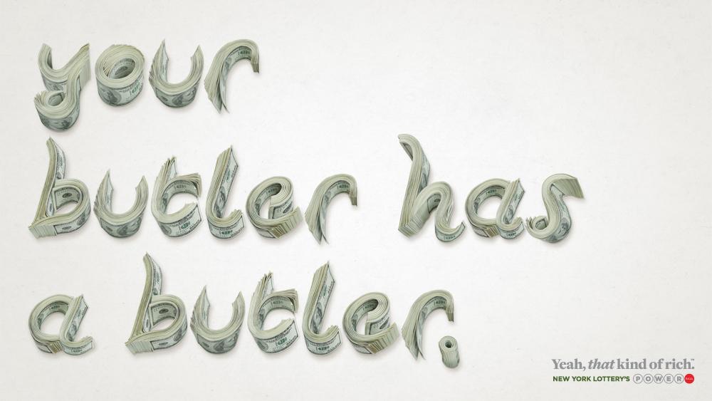 New York Lottery Print Ad -  Butler