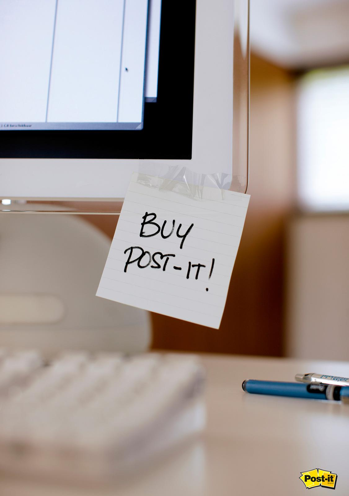 Post-it Brand Print Ad -  Monitor