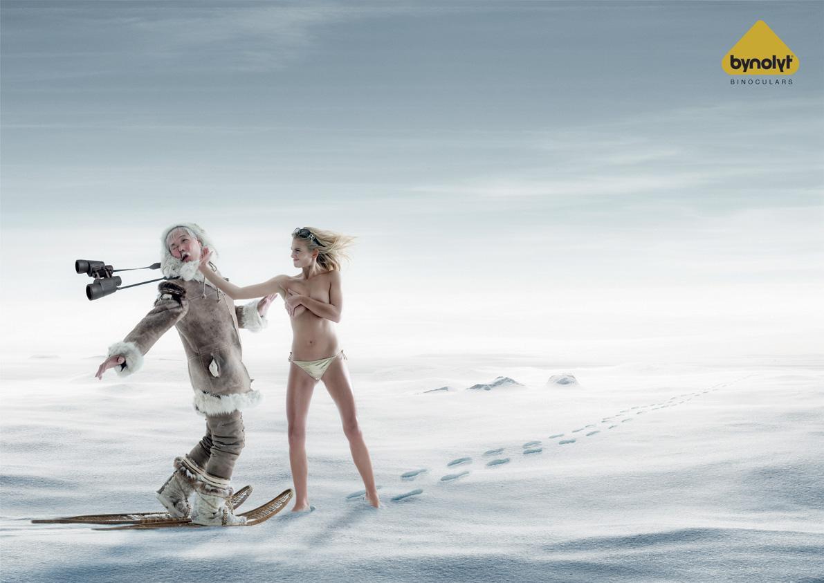 Bynolyt Print Ad -  Eskimo